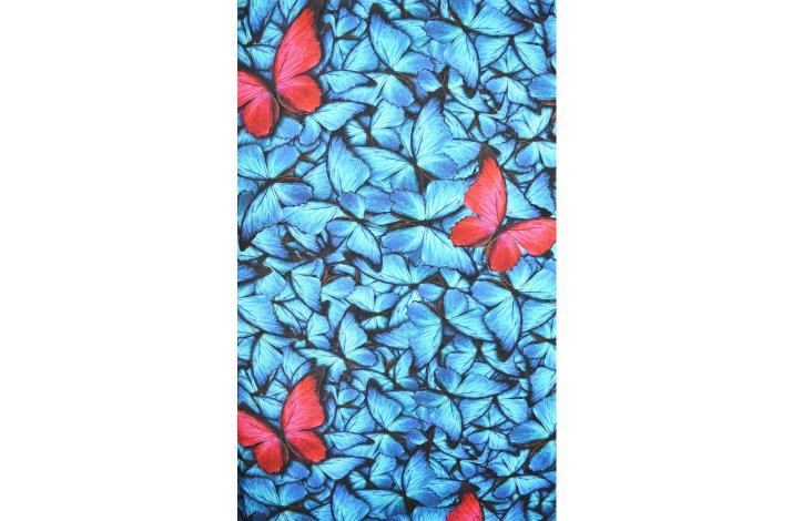Kjole med sommerfugle