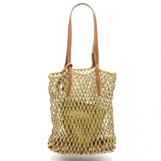 Shopping bag - Lys brun