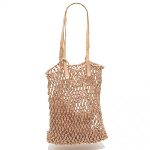 Shopping bag - sand