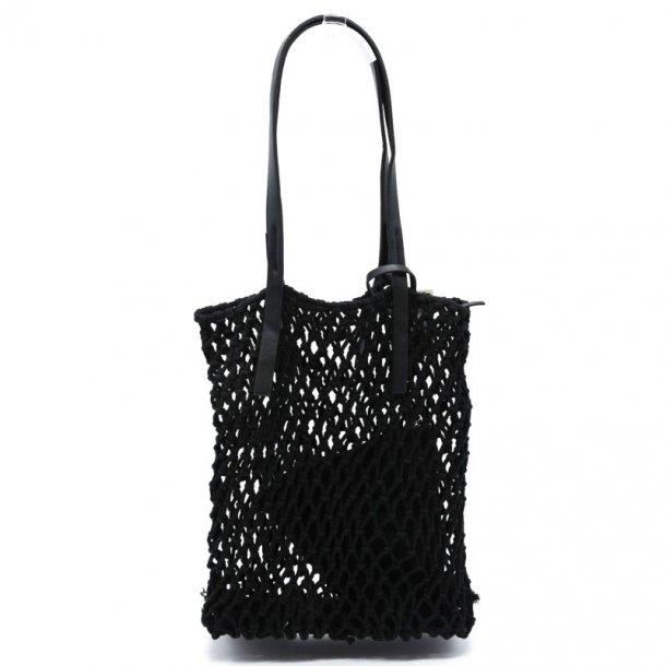Shopping bag - sort